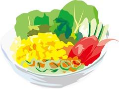 食物繊維から食べる